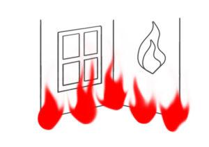 Оценить ущерб от пожара