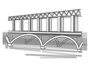 Оценить сооружение, мост, путепровод